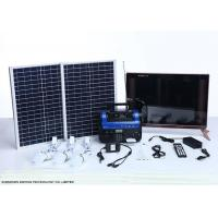 High End Residential Solar Power Systems Build In Rechargeable Battery