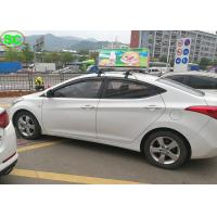 Wholesale P5 RGB Full Color car taxi roof led sign Display 3G Control Super Clear Vision from china suppliers