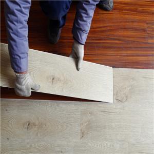 Wholesale 2018 New Design UniPush spc floor wood grain plastic click floor tile from china suppliers