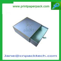 Wholesale Custom Printed Colorful Rigid Cardboard Boxes Gift Boxes Drawer Type Boxes  Paper Box from china suppliers