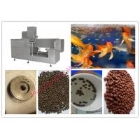 Wholesale Commercial Floating Fish Feed Extruder Machine , PLC Control Fish Feed Production Machine from china suppliers