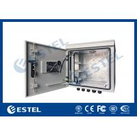 Wholesale 9U Outdoor IP55 Pole Mounted Cabinet For Communication Base Station from china suppliers