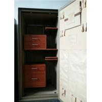 Wholesale Beige Paint Fire Protection Safe , Digital Fireproof Gun SafeBurglar Protection from china suppliers