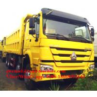 Wholesale Sinotruck Front Hydraulic Lifting  8 x 4 Heavy Duty Dump Truck 371HP Engine, LHD/RHD from china suppliers