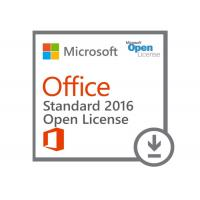Wholesale Genuine Standard Microsoft Office 2016 Key Code COA Sticker Pack FPP License Online Activation from china suppliers