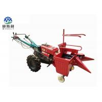 China 0.33 Acre / H Corn Harvester Machine , Single Row Maize Combine Harvester for sale