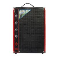 Wholesale 2.0 Multimedia Portable Microphone Bluetooth PA Speaker System For Party Karaoke from china suppliers