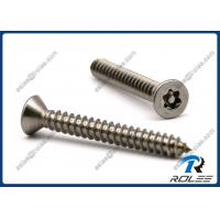 Wholesale Stainless Steel Flat Head Torx Tamper Proof Self Tapping Security Screw from china suppliers