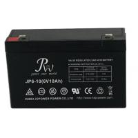 Wholesale Lead Acid Alarm System Battery 6V 10AH , VRLA Batteries For Fire Alarm Systems from china suppliers