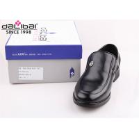 China Cow leather Italy fashion non lace up formal Men Perforated Leather dress Shoes on sale