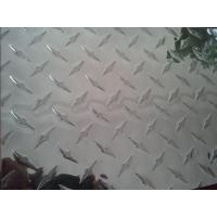 Wholesale Construction Silver Aluminium Tread Plate with Diamond Pattern Alloy 1050 3003 5052 from china suppliers