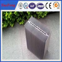 HOT!reliable chinese supplier extruded large radiator heat sinks with silver color for sale