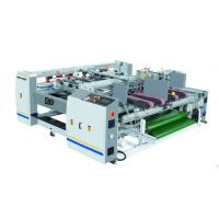 Wholesale Semi Auto Pressure Double Piece Folder Gluer Machine Corrugated Box Folding Machine from china suppliers