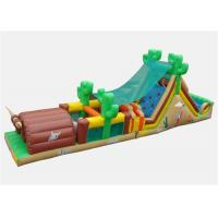 Wholesale Customized Outside Obstacle Course Games Inflatable With Air Blower from china suppliers