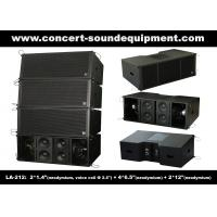 China 3 - Way 1560W High Power LA-212 Line Array Speaker Dynamic And Clarity For Concert / Nightclub on sale
