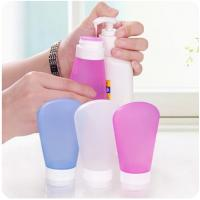 Wholesale Wholesale colorful mini bpa free silicone triangle shape perfume bottle from china suppliers