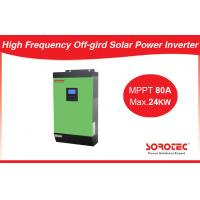 China Pure Sine Wave 48V Solar Power Inverters With Overload / Short Circuit Protection on sale