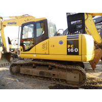 Wholesale KOMATSU PC160-7 USED EXCAVATOR FOR SALE from china suppliers