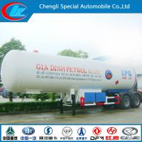 China Asme Certificated 40000liters 2 Axle or 3 Alxle LPG Semi Trailer for Sale on sale