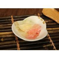Wholesale Sliced Fresh Sweet Pickled Ginger , White And Pink Japanese Sushi Gingers from china suppliers
