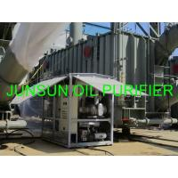 Wholesale JUNSUN High Quality Enclosed Type Dielectric Oil/ Insulating Oil/ Transformer Oil Treatment Plant from china suppliers