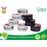 Quality Personalized Logo Name Parcel Printed Packaging Tape For Security Shipping Carton Seal for sale