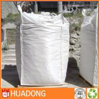 Wholesale Low price hot sale polypropylene jumbo bag 1 ton 1000kg, woven pp bulk bag with pe liner from china suppliers