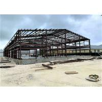 China Industrial Metal Factory Building Steel Structure Warehouse With Rolling Door on sale