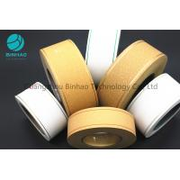 China Permeability Tipping Paper Cigarette Filter Rod Wrapping Soft Temper for sale