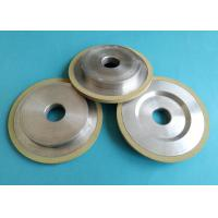 High Strength Vitrified Bond Diamond Grinding Wheels For PCD PCBN Tools Low Labor Intensity