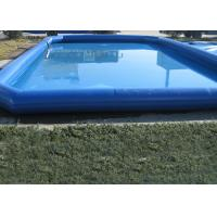 Wholesale Popular Blue Kids Swimming Pool , Pirate Slide Above Ground Swimming Pools For Kids from china suppliers