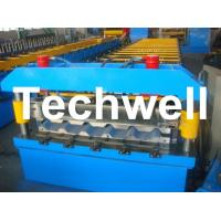 Wholesale Metal Trapezoidal Roof Panel Roll Forming Machine for Making Trapezoidal Roof Panel from china suppliers