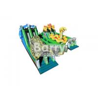Wholesale Big Snake shaped Inflatable Obstacle Course Commercial Grade For Big Event from china suppliers
