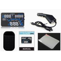 Wholesale Multi - function 12V HUD Head Up Display Highway speed limit function from china suppliers