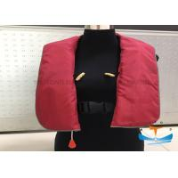 Wholesale Polyester Marine Safety Vest , Inflatable Life Jackets Small Volume Light Weight from china suppliers