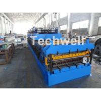 Wholesale IBR / Corrugated Sheets Dual Level Cold Roll Forming Machine With 5 Ton Manual Uncoiler from china suppliers