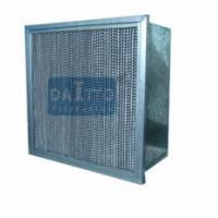 Wholesale Flange Separator High Flow Panel Filter Little Weight Easily Operated from china suppliers