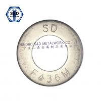 Wholesale Hardened Steel Flat Washers F436/F436M Structure Washer Plain washer Carbon Steel from china suppliers
