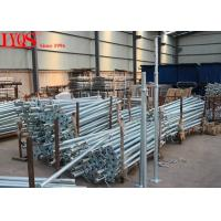 Wholesale Size 3 Galvanised Acrow Props , Scaffolding Steel Prop For Concrete Floor Building from china suppliers