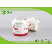Wholesale 500ml 16oz Disposable FDA Certificated Frozen Yogurt Cups with Dome Lids from china suppliers