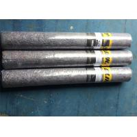 Quality Dark Grey Needle Punched Felt Backing PE Film Backing Flooring Rolls 1m*10m for sale