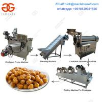 Wholesale Chickpeas Processing Machine|Chickpeas Machine Line Equipment|Frying Green Peas Line from china suppliers