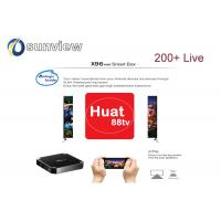 Wholesale TVB Huat 88 Iptv Apk  Hot Channels , Singapore Sport Huat88 Apk EPL from china suppliers