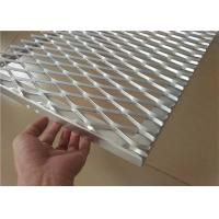 Buy cheap Expanded Aluminum Wire Mesh , Metal Wire Mesh For Building Wall Materials from wholesalers