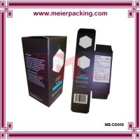 Wholesale Custom printing single wine box/Coated paper gift wine box ME-CD006 from china suppliers