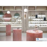 Quality New design Eyeglass shop Optical display fixture of wood with steel cabinets for sale