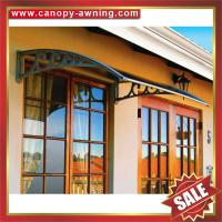Buy cheap house villa window door diy pc polycarbonate sunshade awning awnings canopy from wholesalers