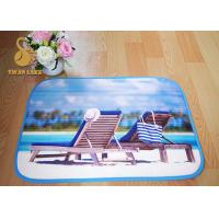 Wholesale Eco Friendly Memory Foam Toilet Indoor Area Rugs / Custom Bath Mats from china suppliers