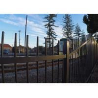 2.1mx2.4m Rails 40mm Garrison Security Fencing for sale