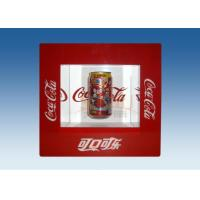 Wholesale Window Shape Red Acrylic Levitation Floating Display With Silk Screen Printing from china suppliers